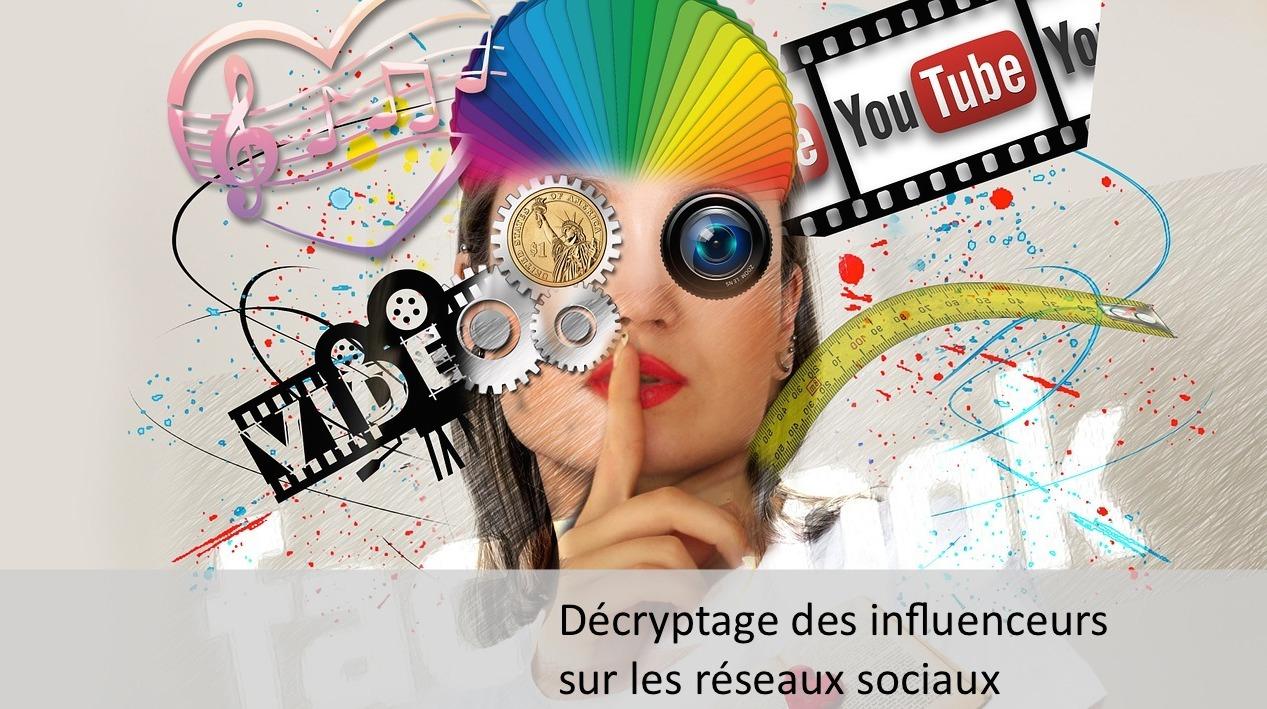 Décryptage des influenceurs sur les réseaux sociaux