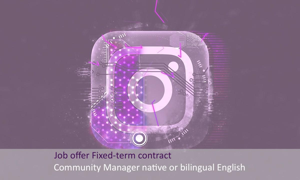 Community manager English-speaking