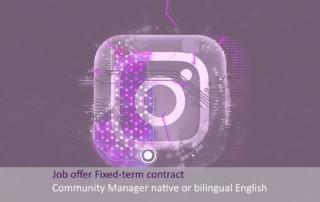Community manager English-speaking