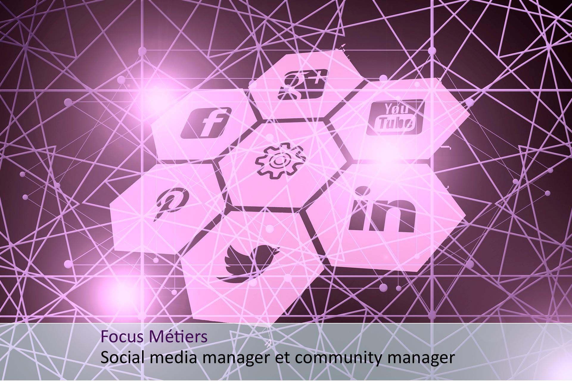 métier social media et community manager