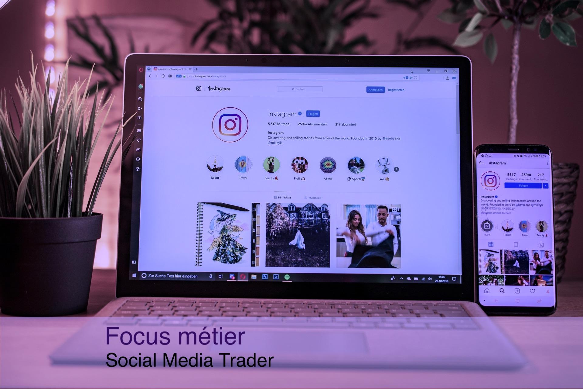 Social Media trader