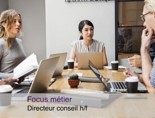 Focus métier Directeur conseil en agence de communication