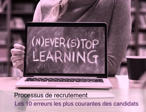 10 erreurs courantes lors d'un processus de recrutement