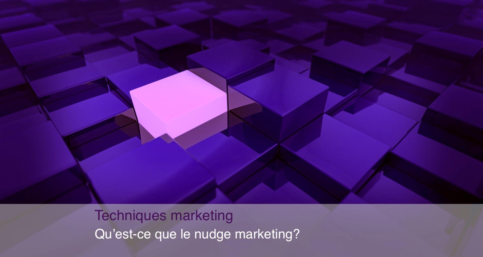 nudge marketing